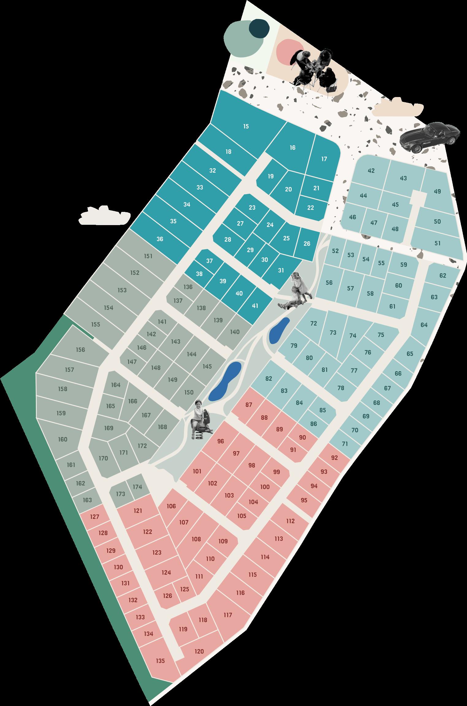 Mapa osiedla